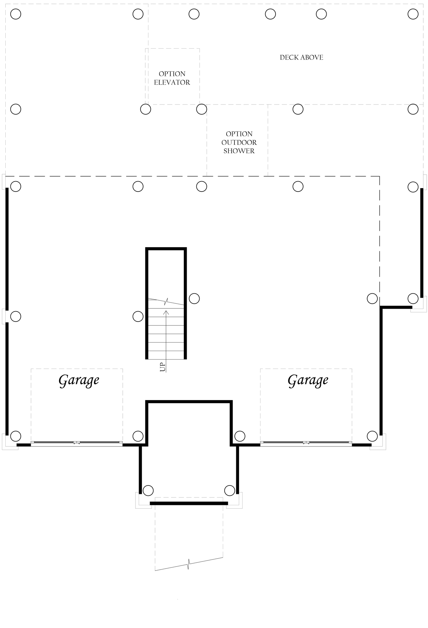 Bayberry - Master - Floor Plan - Ground Level - Full