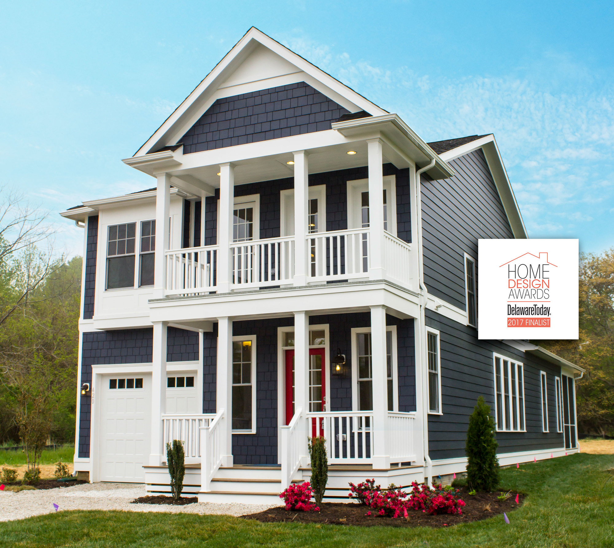 Front Elevation App : The burton by evergreene homes