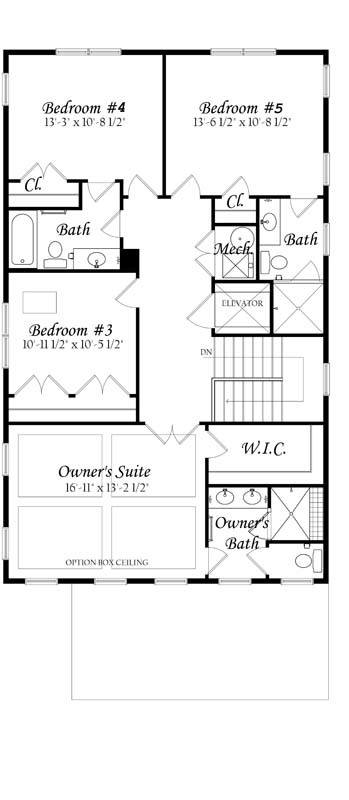 Dewey-II---Master---Floor-Plan---Upper-Level