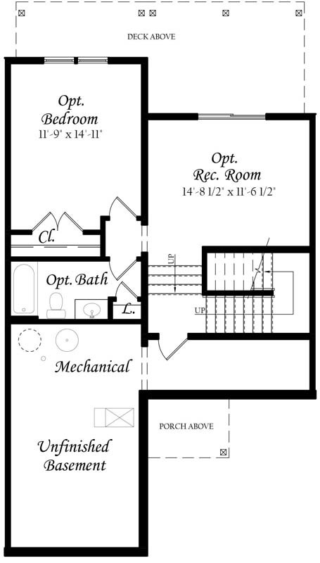 Southpointe-Towns---Master---Floor-Plan---Lower-Level---Finished---Full