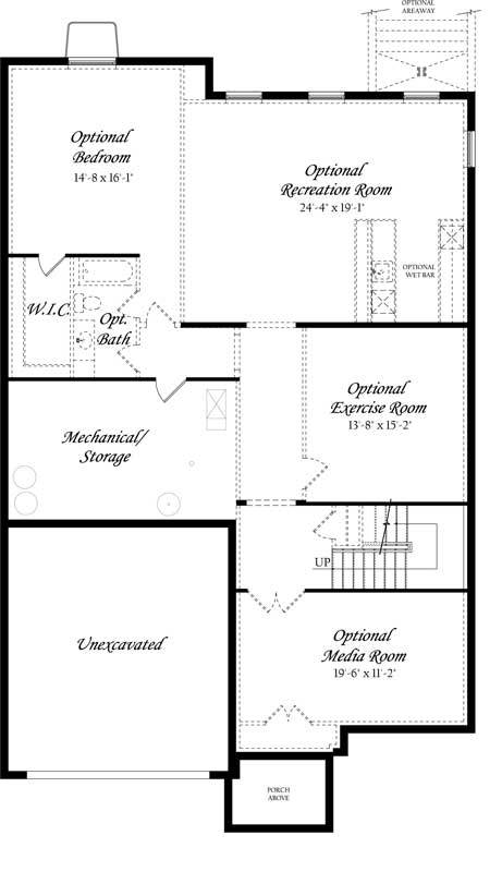 Carlyle-3x0---Master---Floor-Plan---Elev-A---Lower-Level