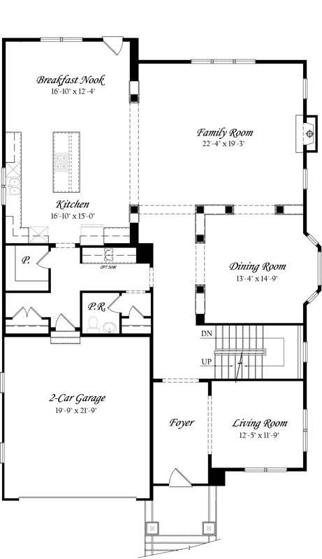 Carlyle-3x0---Master---Floor-Plan---Elev-A---Main-Level