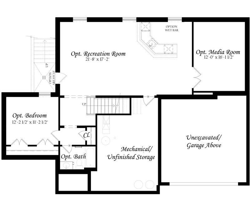 Colvin-3x0---Master---Floor-Plan---Elevation-A---Lower-Level