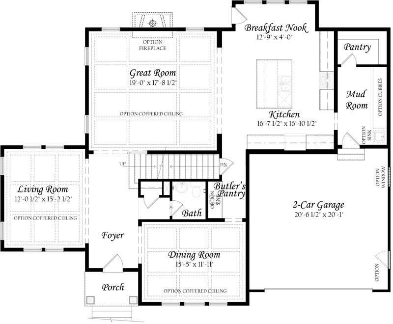 Colvin-3x0---Master---Floor-Plan---Elevation-A---Main-Level