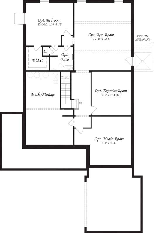 Falmouth---Master---Floor-Plan---Lower-Level---Rotated