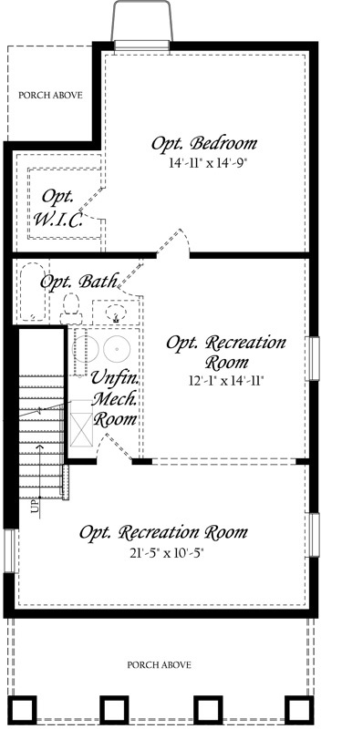Guilford Vinehaven - Master - Floor Plan - Lower Level