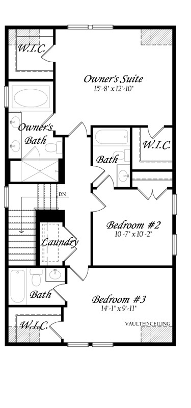 Guilford Vinehaven - Master - Floor Plan - Upper Level