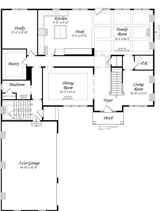 Hawthorne-3.0---Master---Floor-Plan---Elev-A---Main-Level