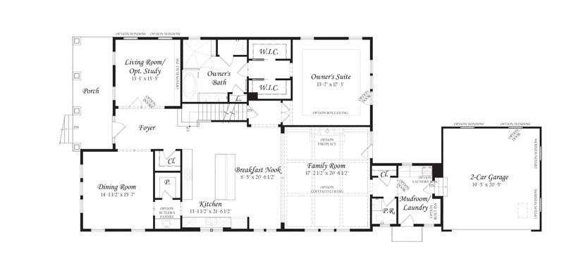 Houses for sale herndon va the nantucket at mankins Nantucket floor plan