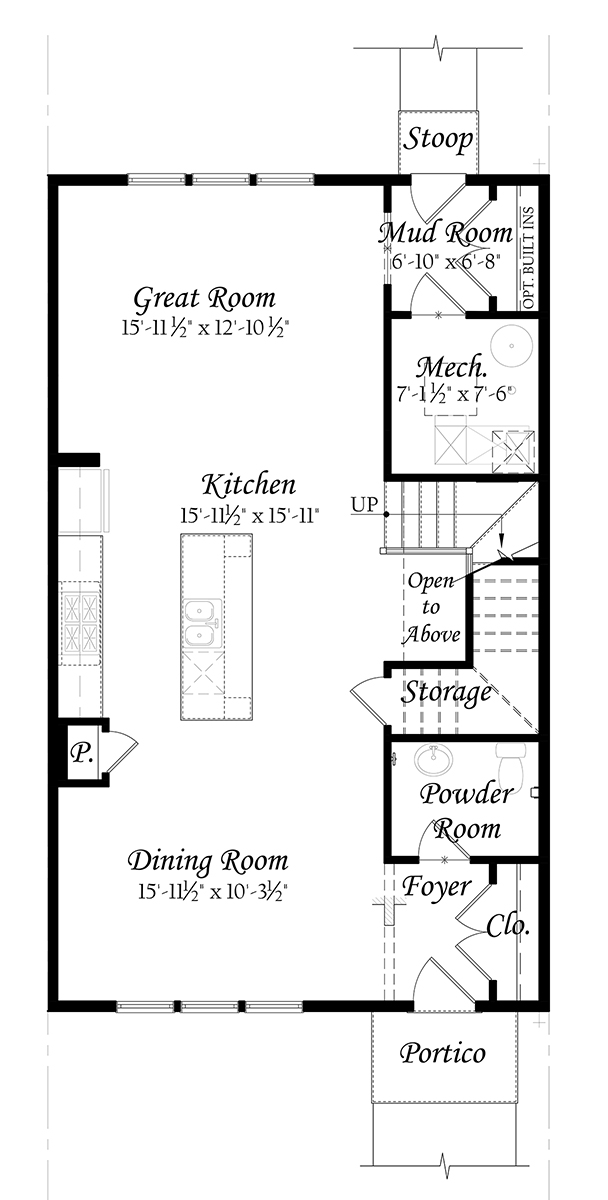 WEB Wentworth - Master - Floor Plan - Opt - Alt Main Level - Full 91219
