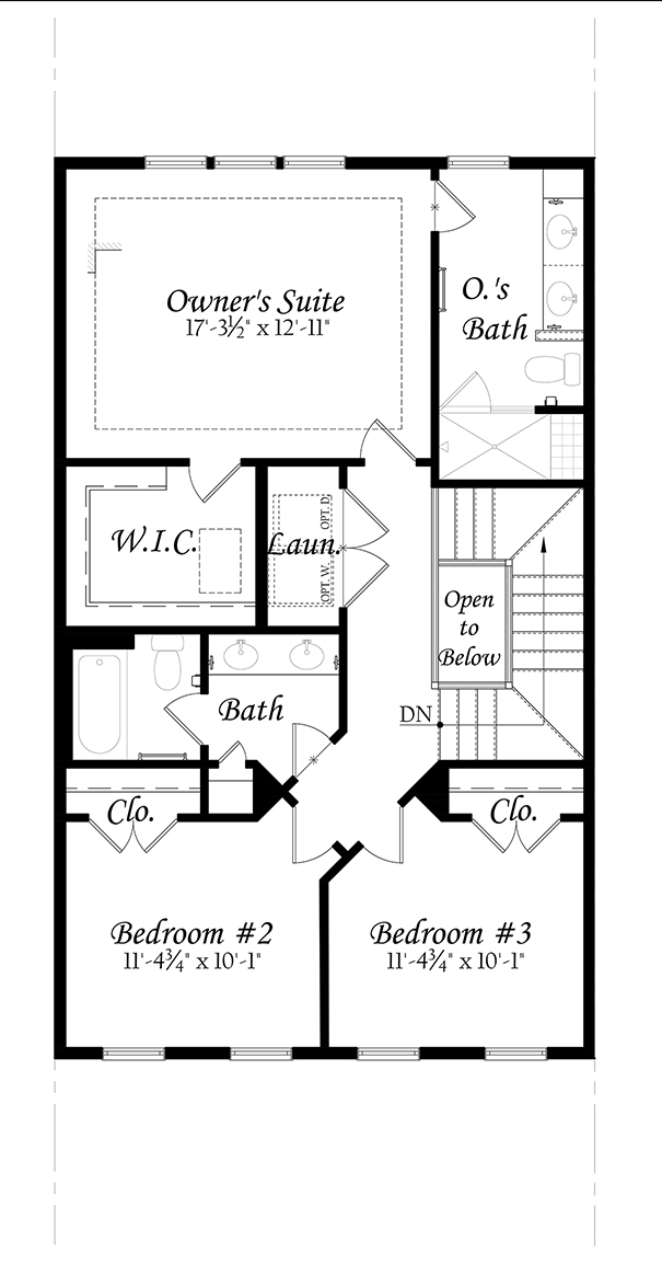 WEB Wentworth - Master - Floor Plan - Upper Level - Full 91219