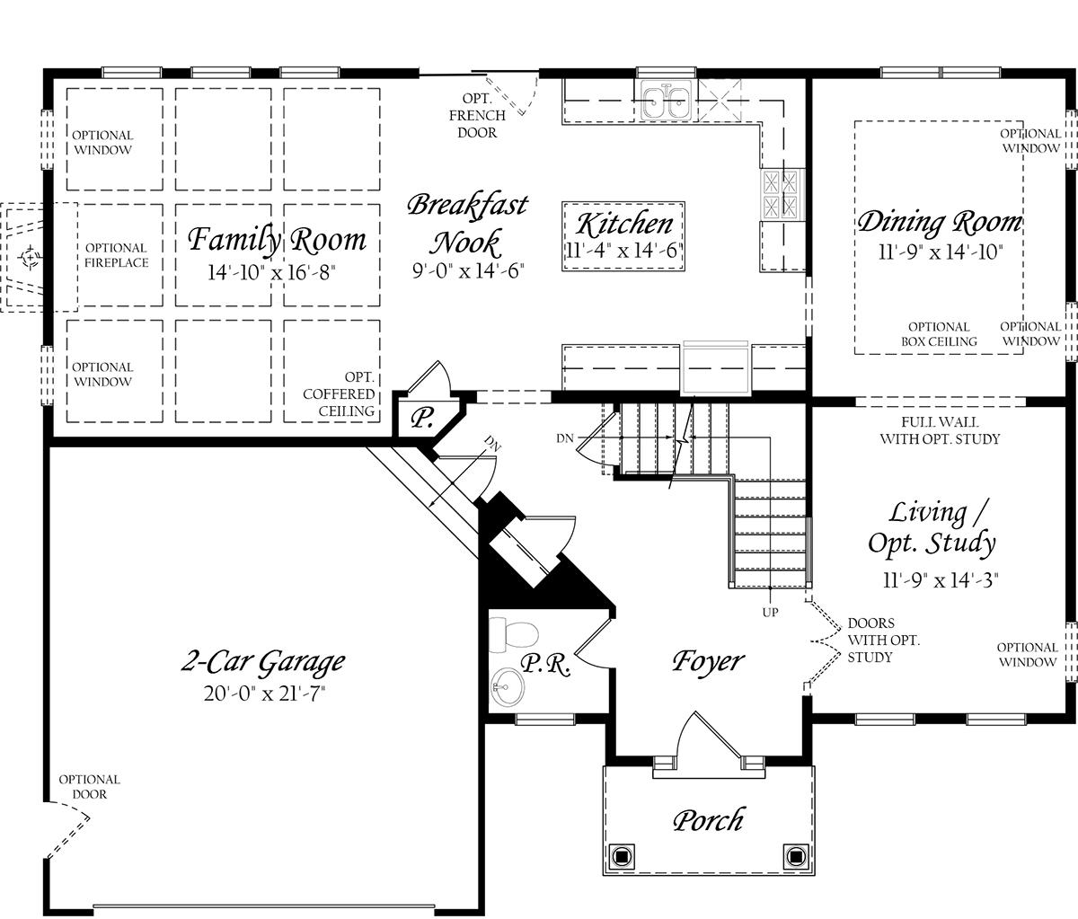 Elevation Plan App : Model evergreene homes