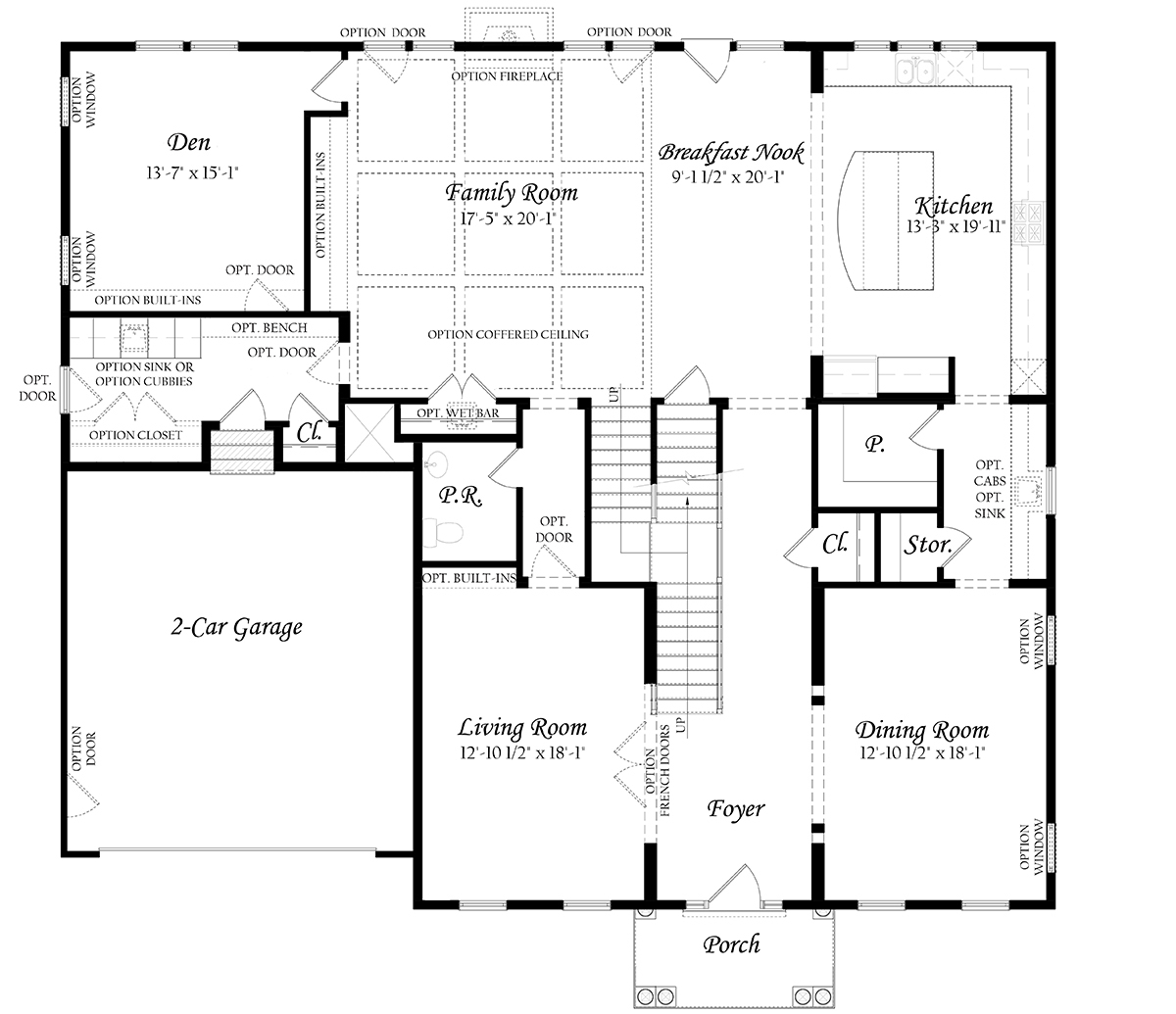 Floor Level Elevation : Woodson chapman evergreene homes