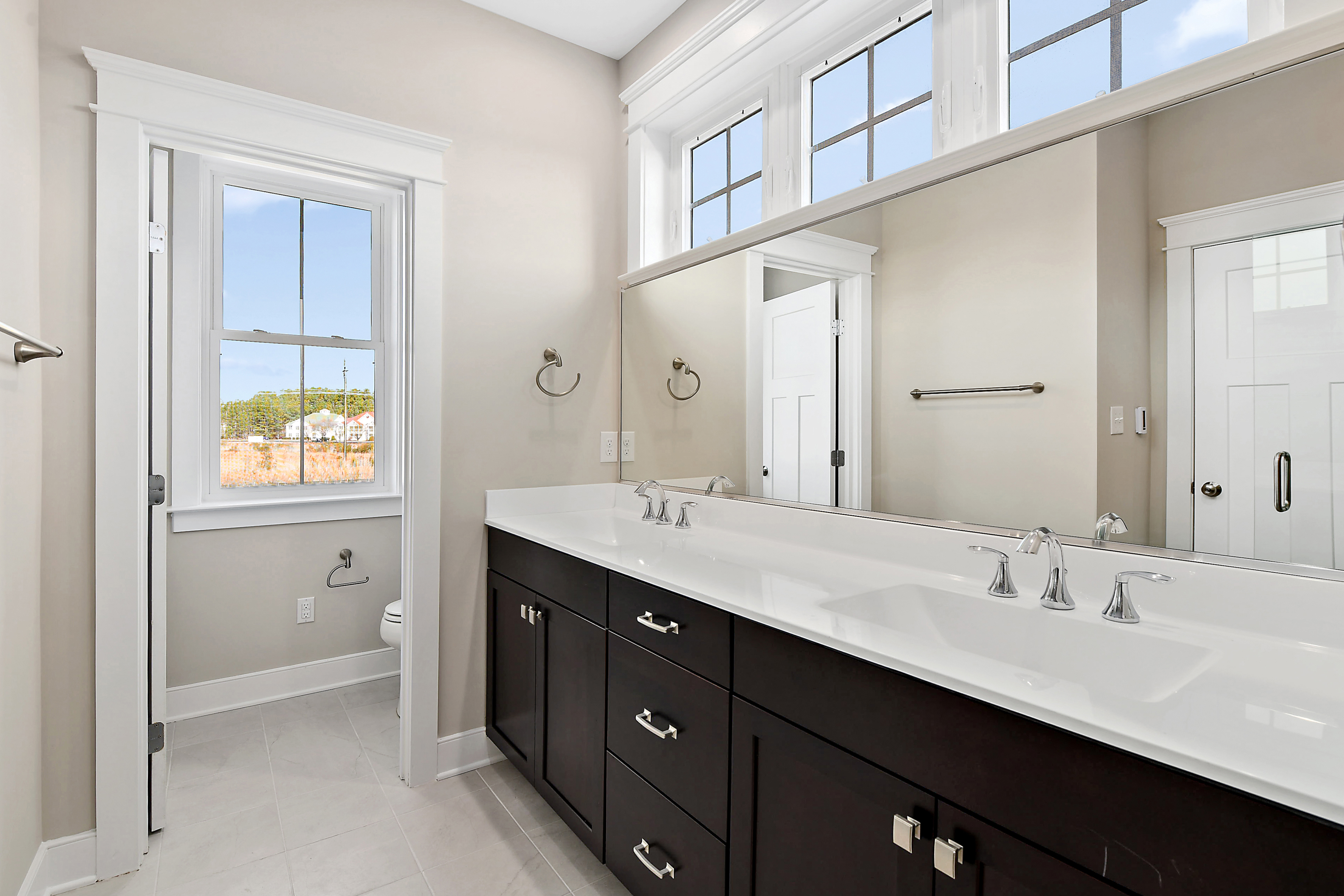 Owner Bathroom Double Vanity