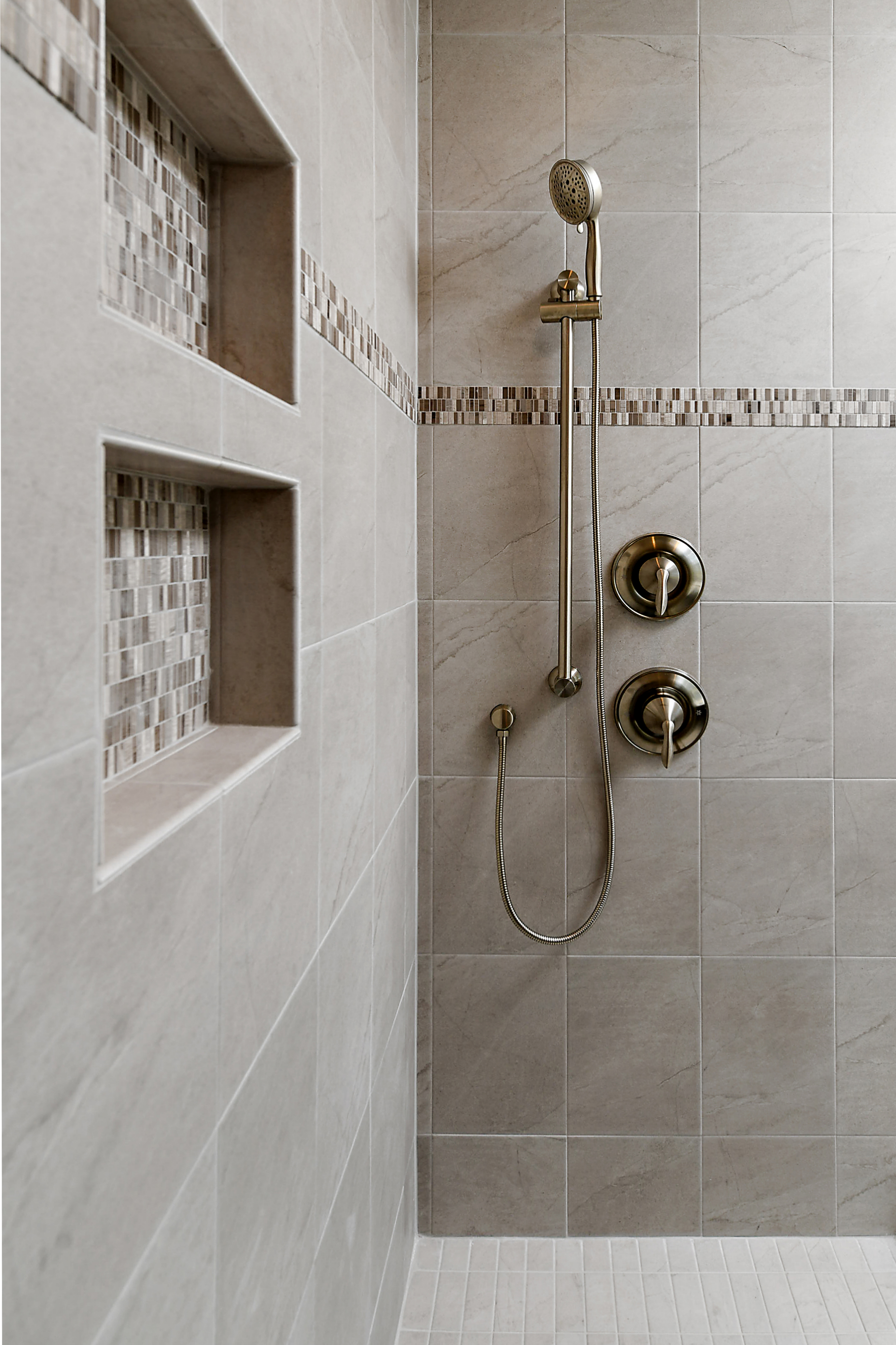 Owner Bathroom Shower Tiles