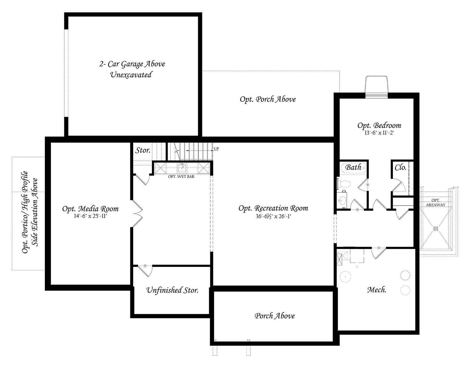 WEB Greenwood 3x0 - Floor Plan - 11242020 - Lower Level