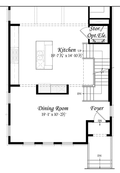 Kenwood Opt Main Level with Alternate Kitchen