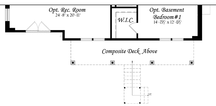 Web Spinnaker 3x0 - Floor Plan - Master - Lower Level opt rec room opt finished basement bedroom walkout