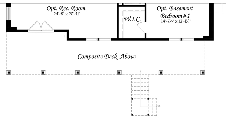 Web Spinnaker 3x0 - Floor Plan - Master - Lower Level opt rec room opt finished basement bedroom